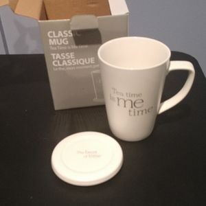 Steeped Cup and Lid Brand New Offers Accepted
